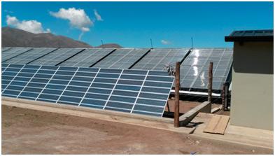 Instalación solar térmica y fotovoltaica
