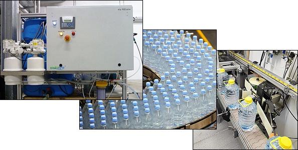 Embotelladora de aguas